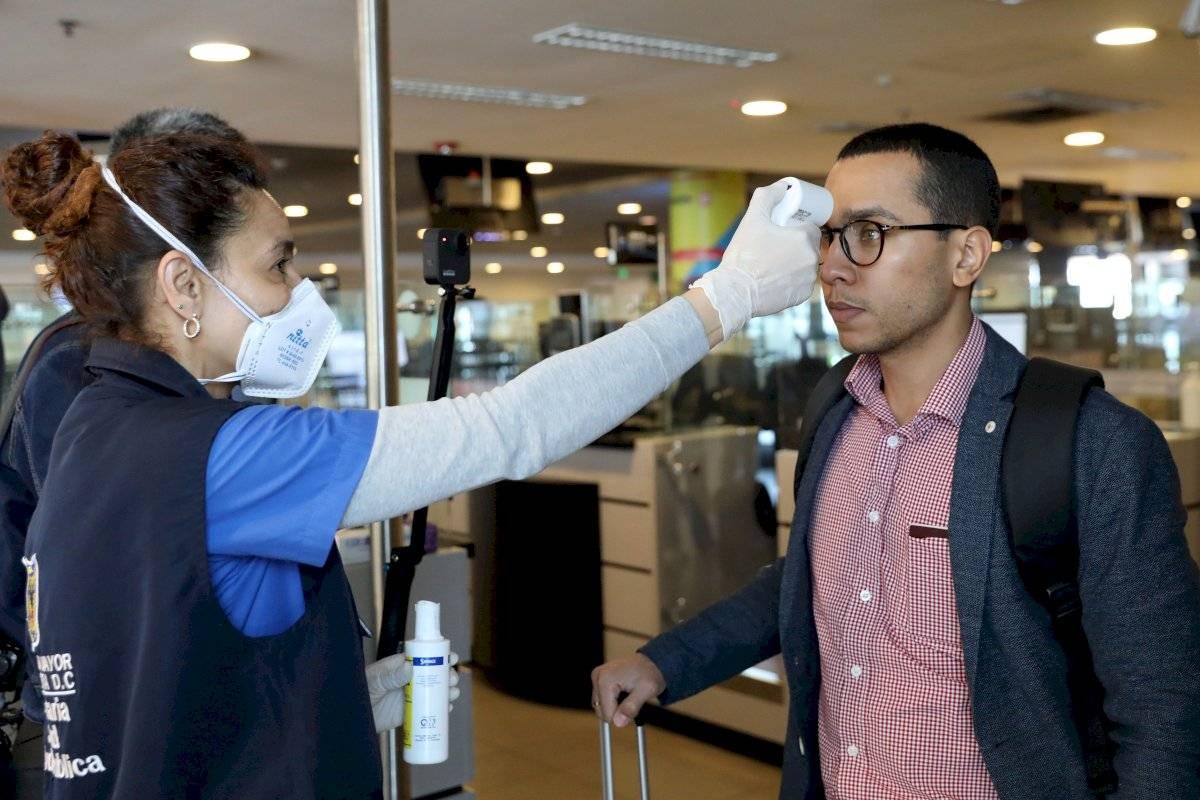 Controles por coronavirus en Colombia