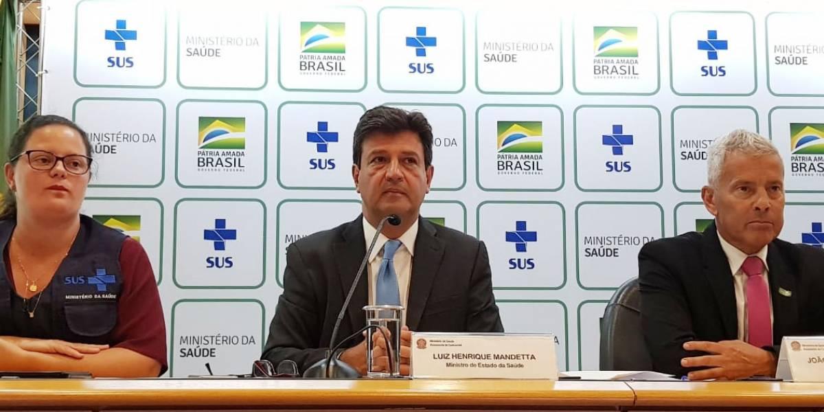 Verbas podem ser adiantadas se não houver recursos extraordinários, diz ministro da Saúde