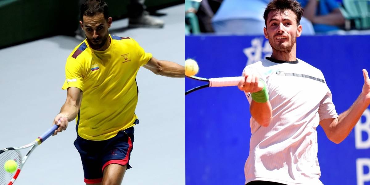 Santiago Giraldo vs. Juan Ignacio Lóndero | Colombia, a hacerse fuerte contra Argentina en la Davis