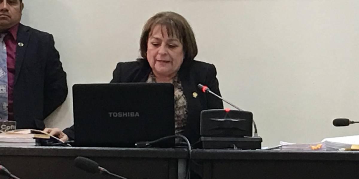 La Línea: MP desconfía de la jueza María Eugenia Castellanos