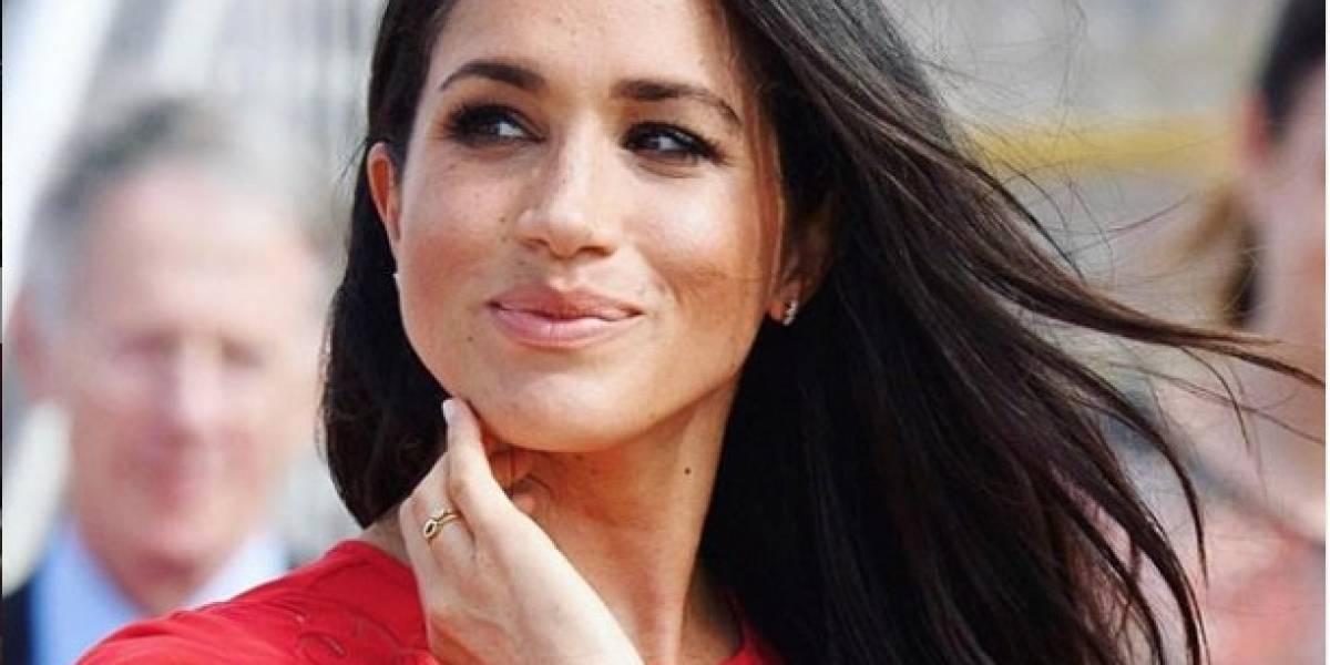 Meghan Markle en una falda lápiz deja a Reino Unido con la boca abierta