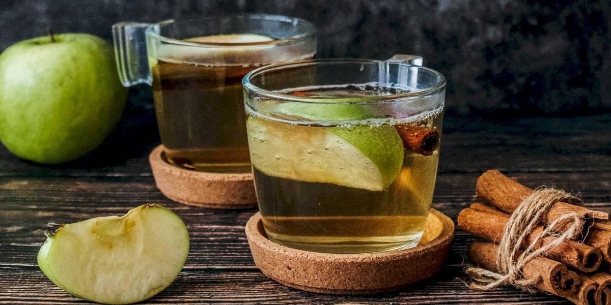 Água de maçã e canela para acelerar o metabolismo