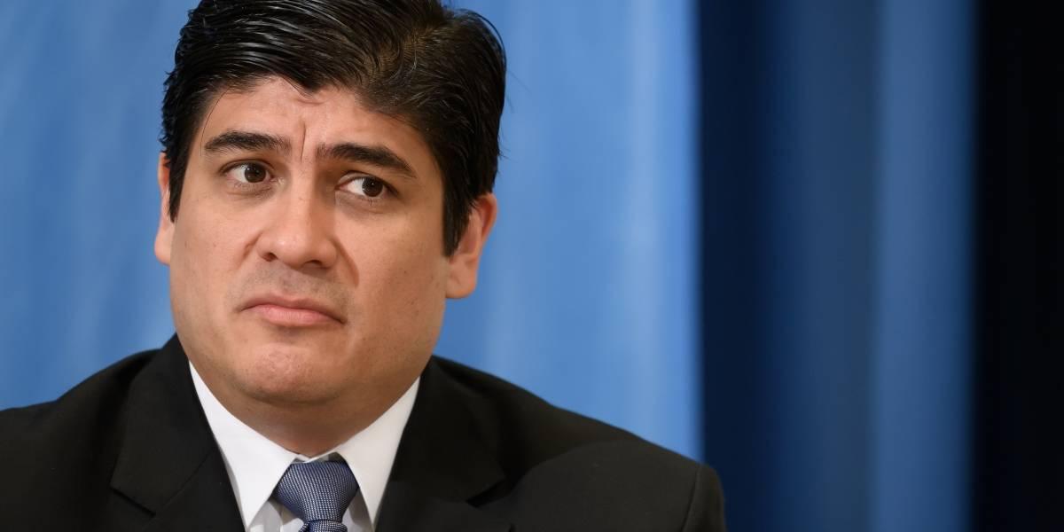 Presidente de Costa Rica confirma primer caso de coronavirus