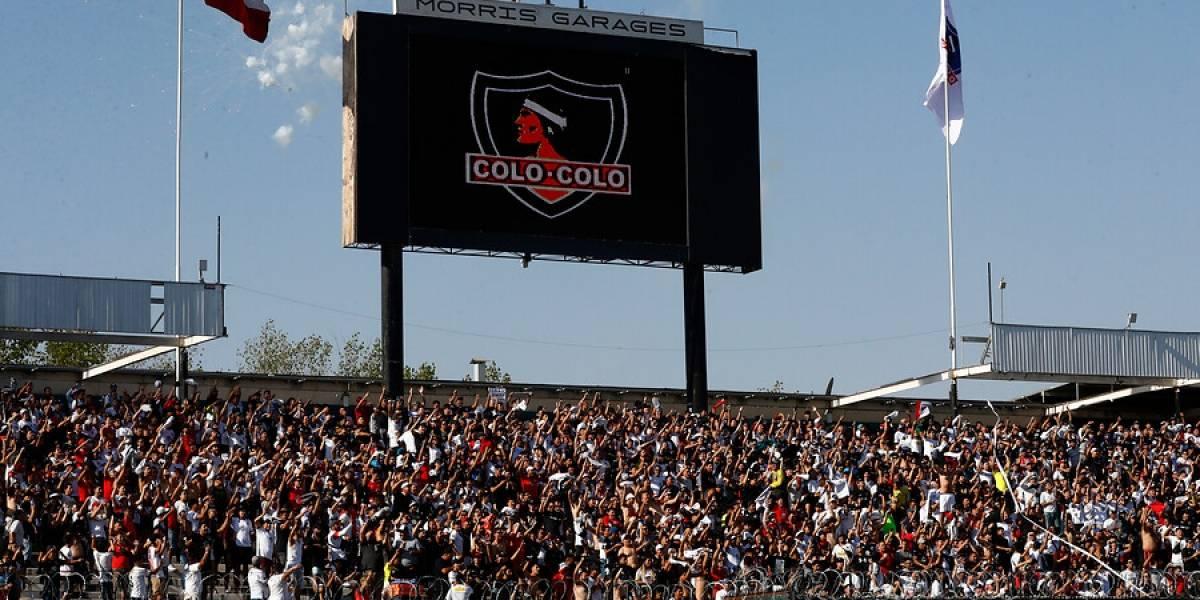 Colo Colo venderá a 3 mil pesos la galería para su estreno como local en Copa Libertadores