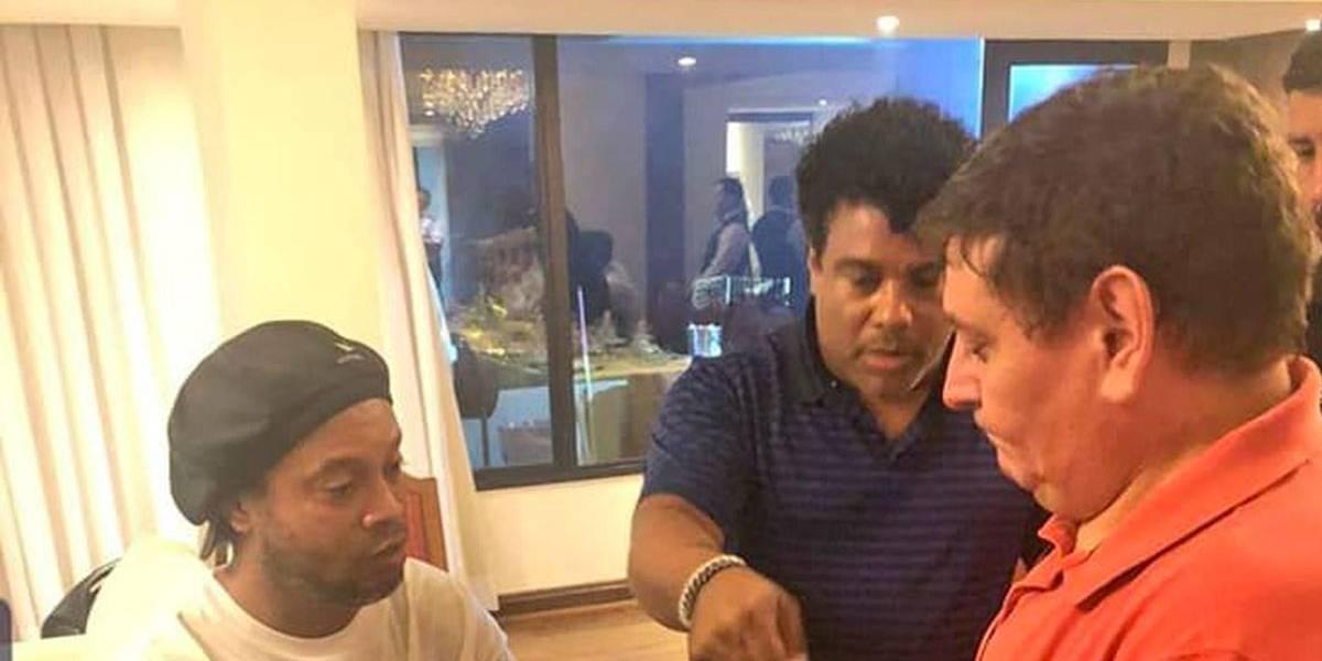 Ronaldinho e Assis pagaram US$ 5 mil por documentos paraguaios