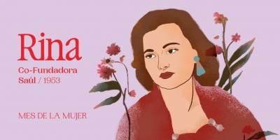 Rina, el nombre de Saúl en honor a la mujer