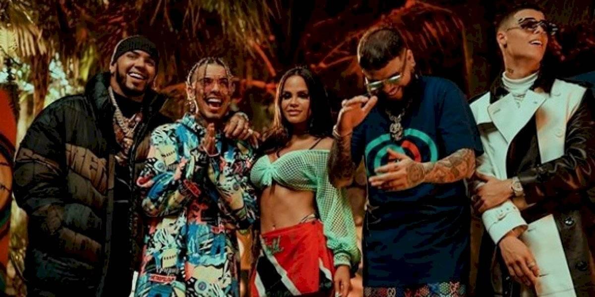 """Estrena remix de """"Fantasías"""" junto a Natti Natasha, Anuel AA y Lunay"""