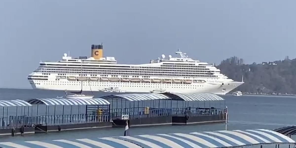 Cruceros con casos de coronavirus se quedan sin puertos