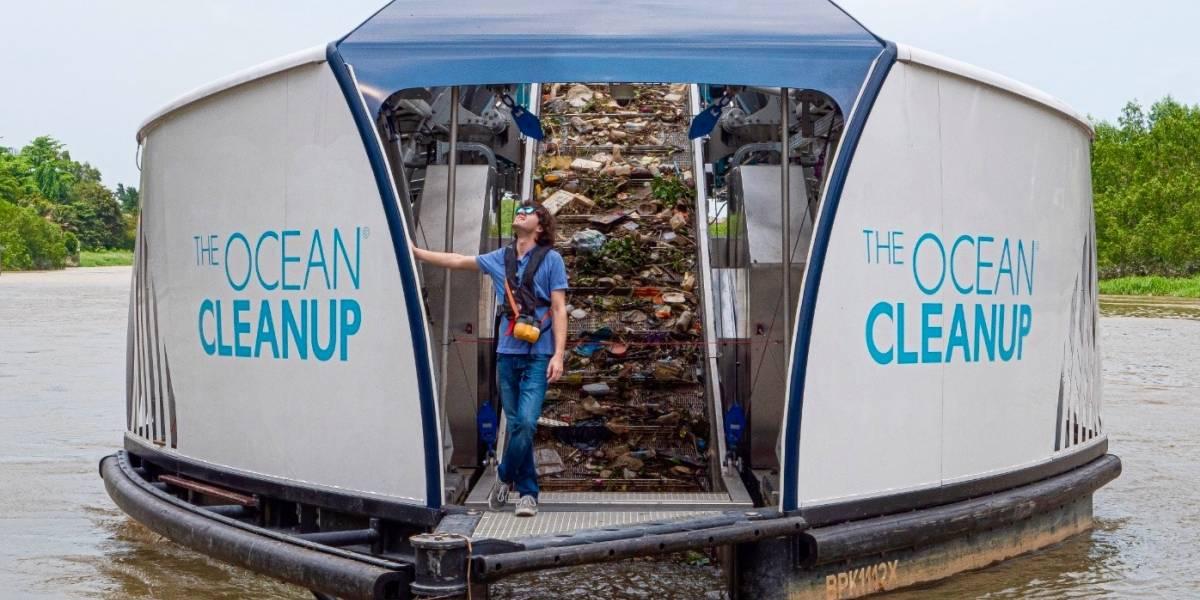 Un holandés de 25 años quiere limpiar el plástico en ríos y océanos