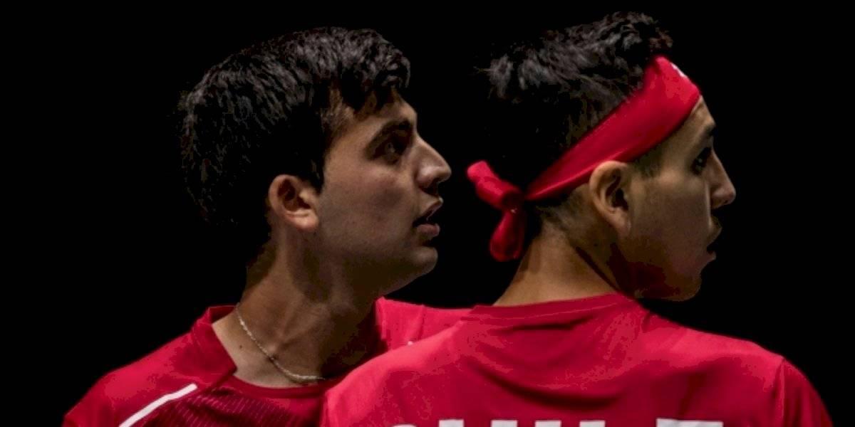 La dupla Barrios-Tabilo cayó en el dobles y Suecia se puso en ventaja en la serie de la Copa Davis