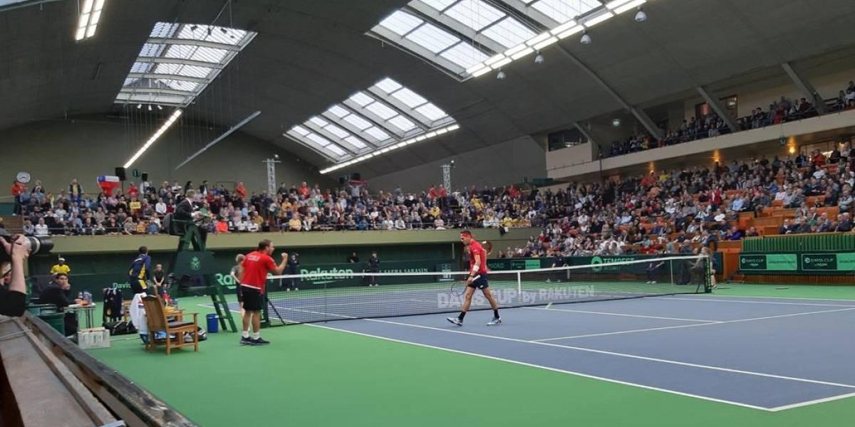 Se acabó el sueño: Ymer derrotó a Tabilo y Suecia se llevó la serie ante Chile en Copa Davis