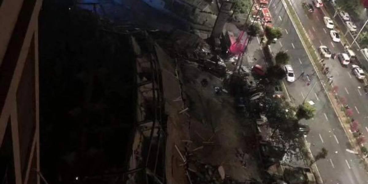 Hotel para cuarentena de infectados con Covid-19 en China se derrumbó