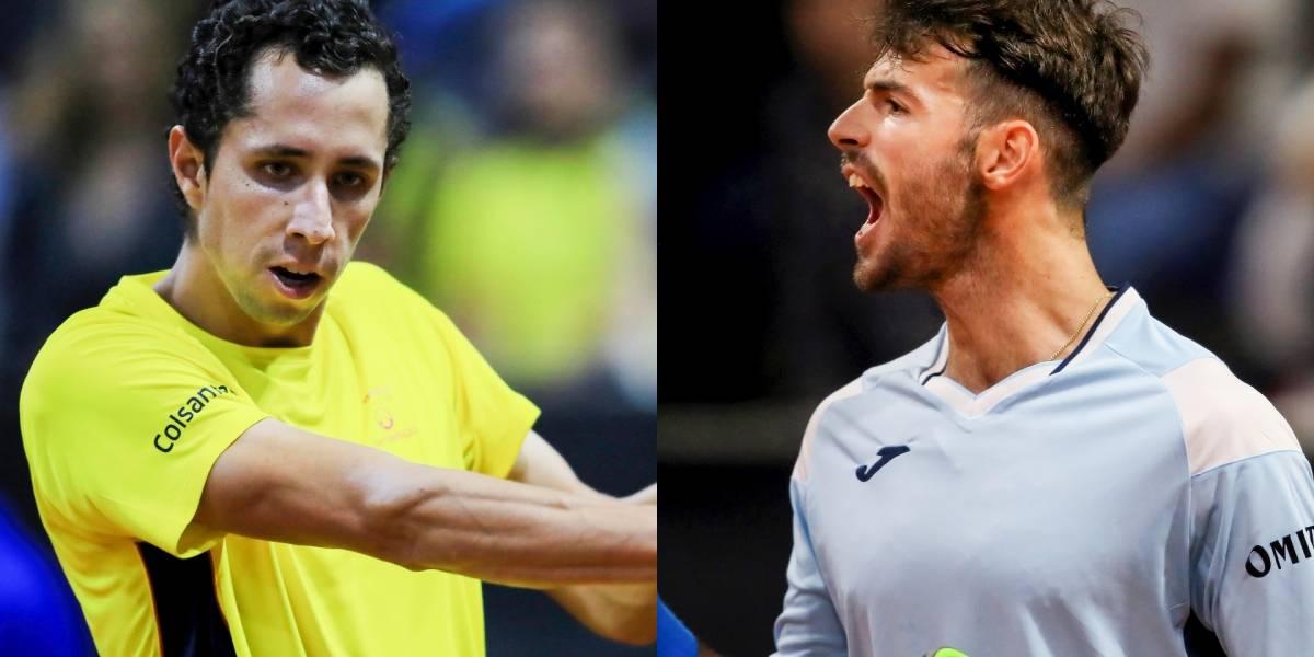 Galán vs. Lóndero | Partido crucial en la serie entre Colombia y Argentina en la Copa Davis