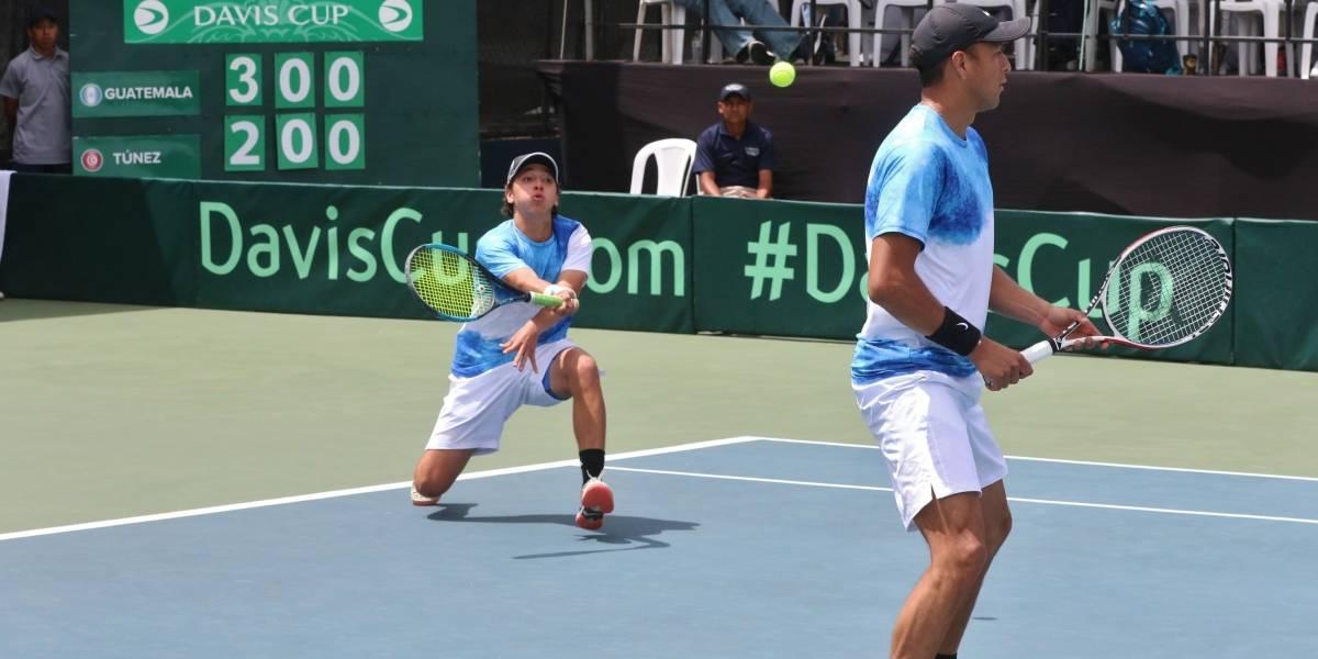 Guatemala cae ante Túnez y pasa a los Grupos Regionales III de Copa Davis