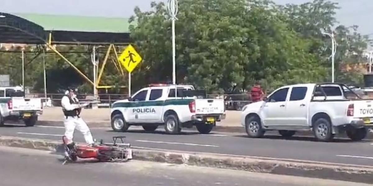 Presunto ladrón es dado de baja al enfrentarse con la Policía