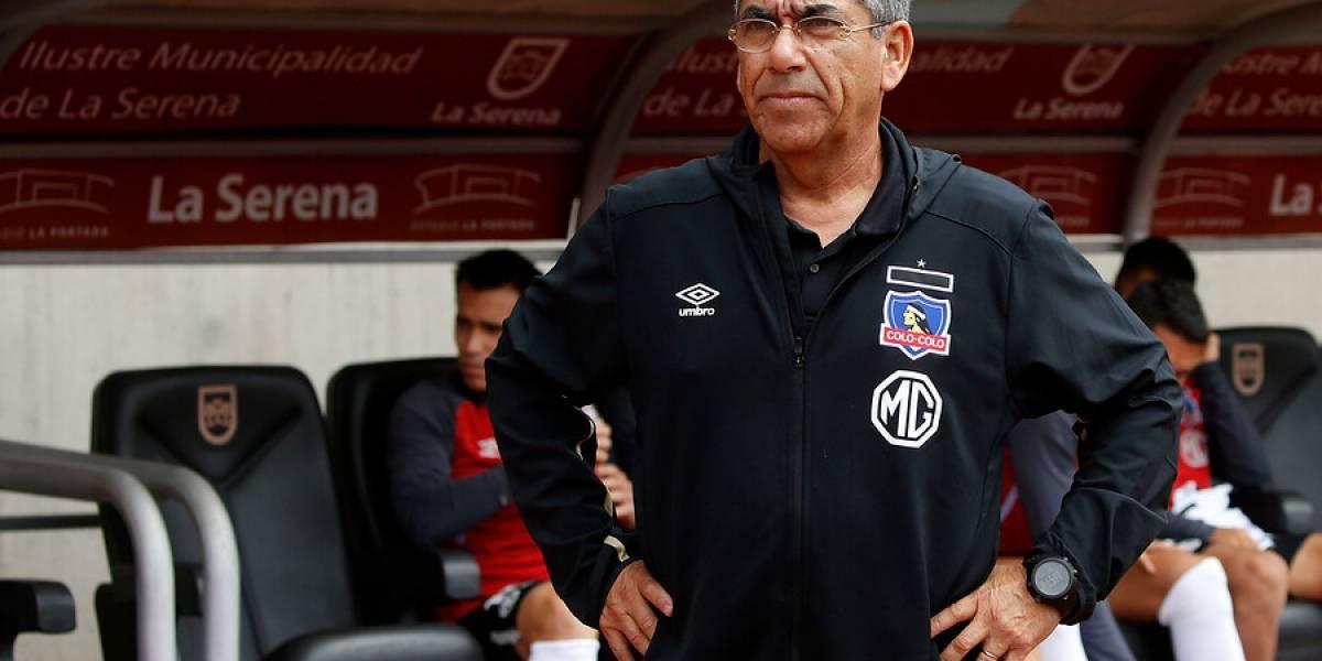 """Gualberto Jara y el angustiante triunfo de Colo Colo: """"La jerarquía se impuso para sacar el resultado"""""""