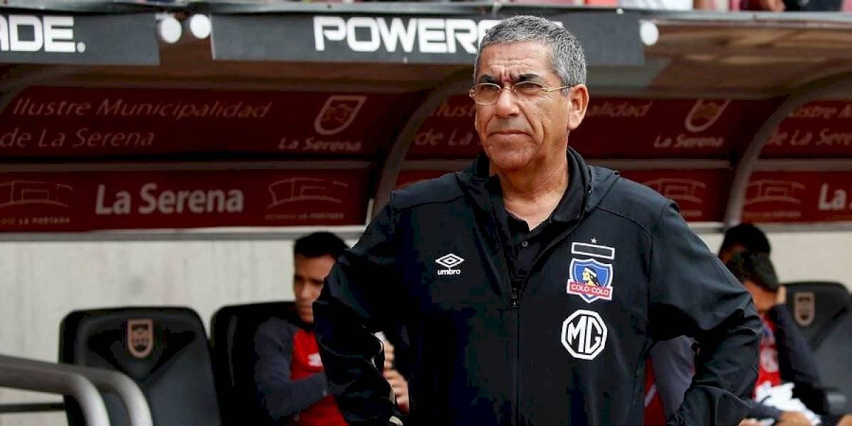"""Jara promete que Colo Colo alcanzará """"nivel adecuado"""" en """"4 o 5 fechas"""""""
