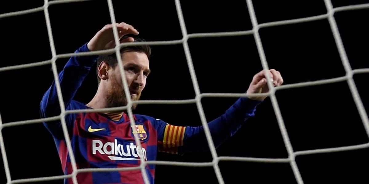 Real Sociedad hace una jugada increíble para detener a Lionel Messi