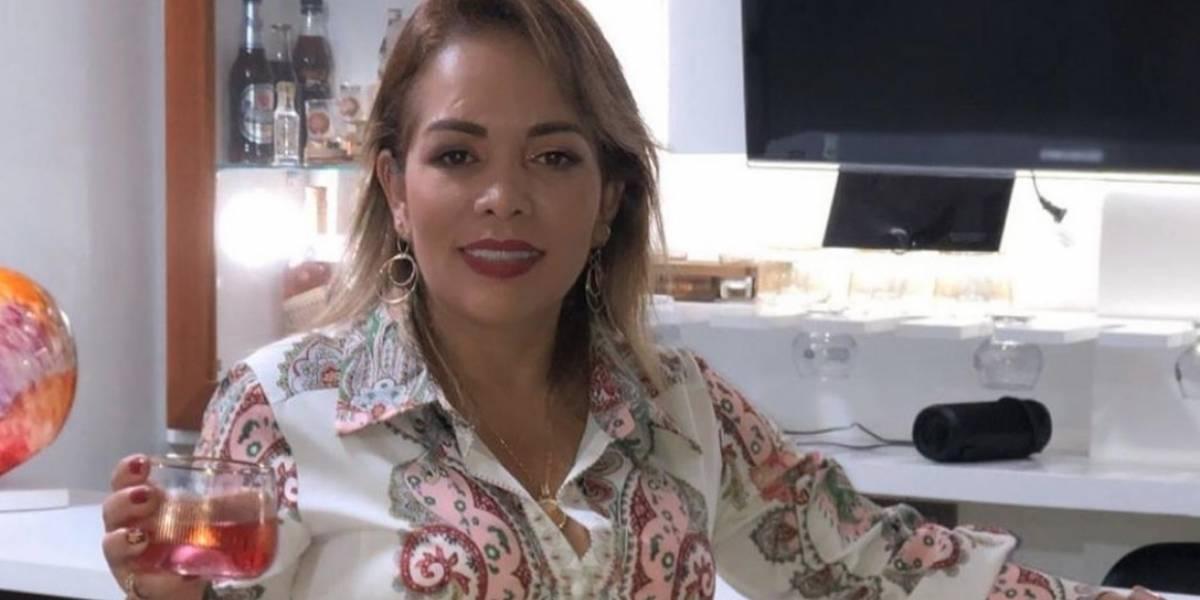 Sandra Barrios se dejó ver feliz con su nuevo amor en paseo en helicóptero
