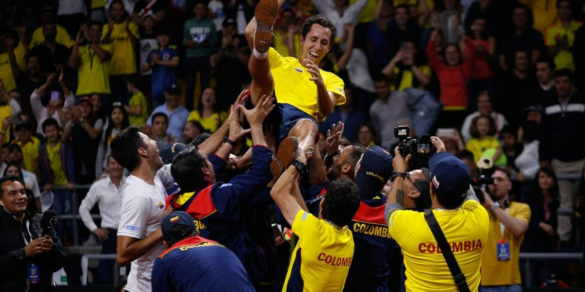 ¡Madrid, allá vamos! Galán liquidó la serie contra Argentina y Colombia jugará el Grupo Mundial