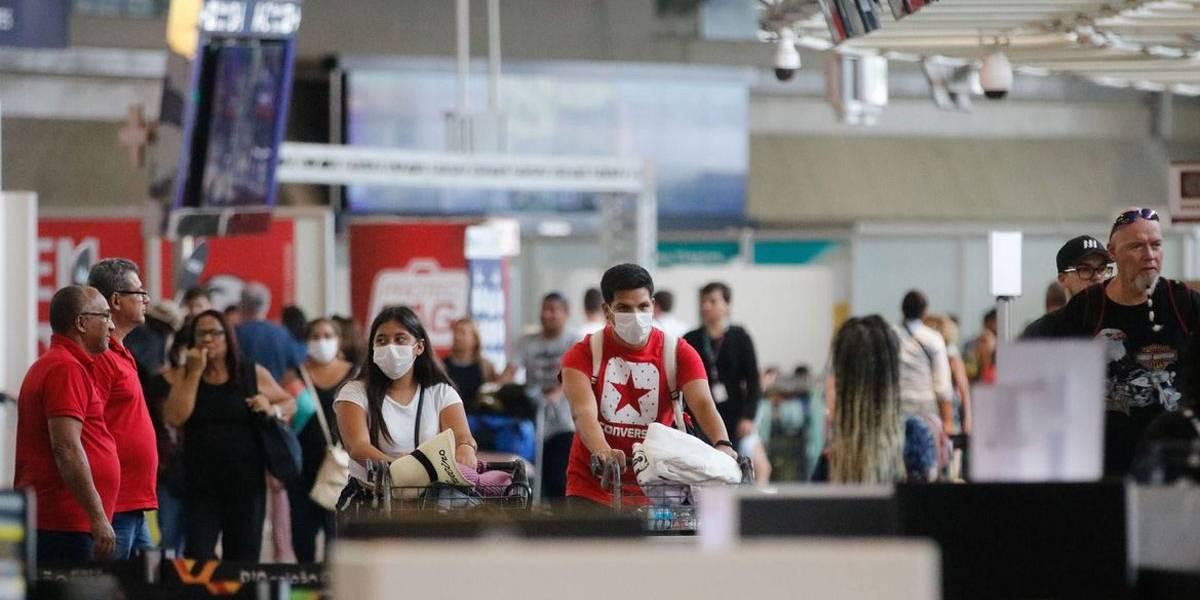 Brasil 'importou' coronavírus mais de 100 vezes; Europa foi principal origem