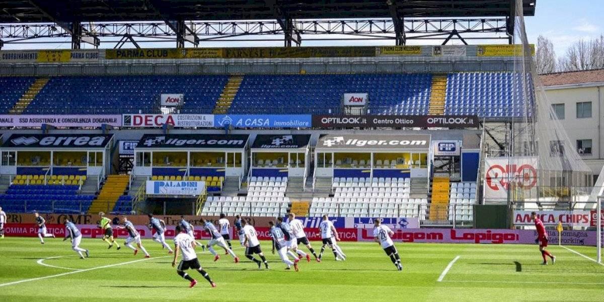 Italia en jaque: Duelo de la Serie A se jugó con más de una hora de retraso por culpa del coronavirus