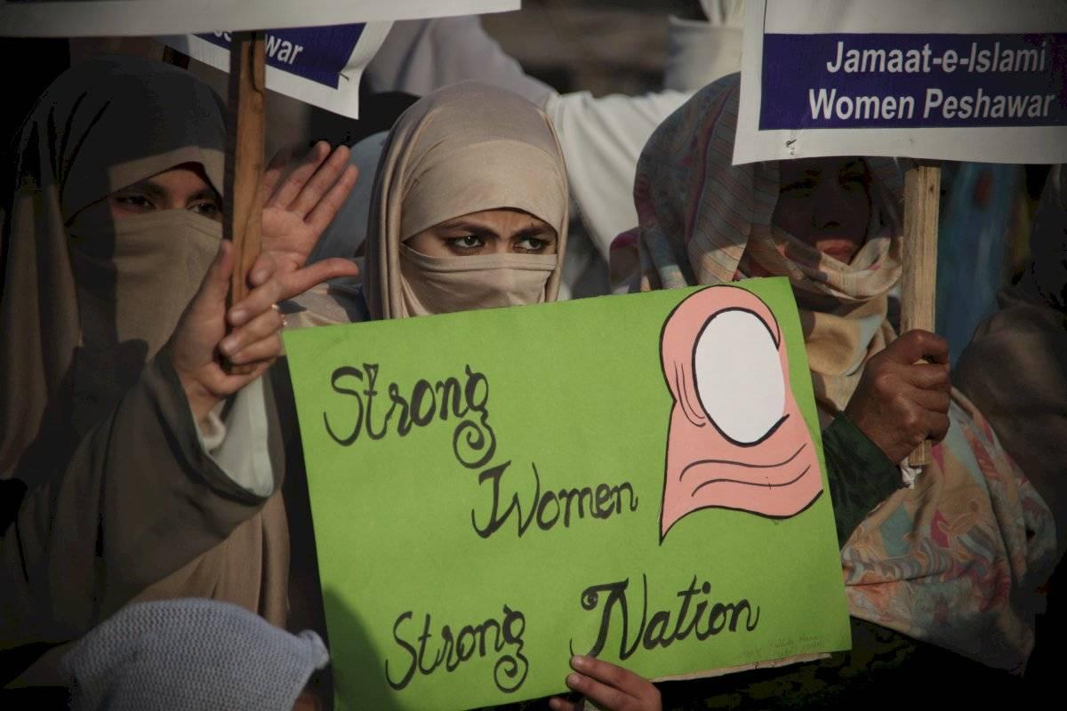 Marchas en Pakistán en el Día de la Mujer