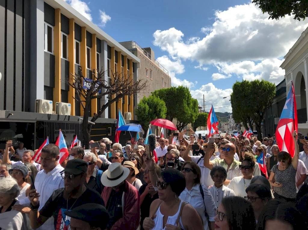 Despedida de Rafael Cancel Miranda en Mayagüez