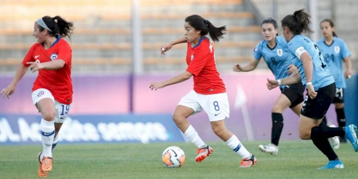 La Roja femenina sub 20 dio pelea pero cayó ante Uruguay y acumuló su segunda derrota en el Sudamericano