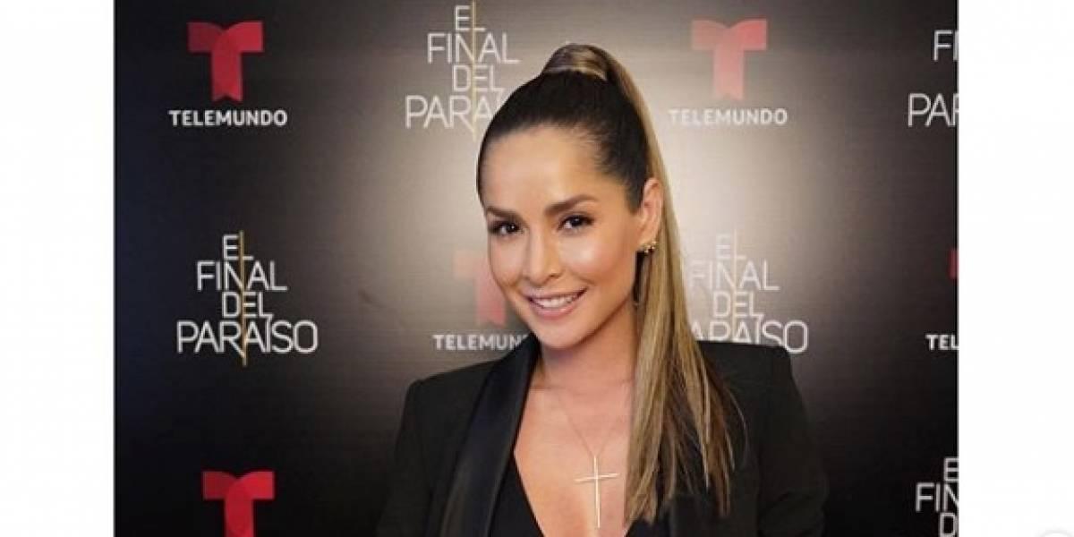 El vestido semitransparente de Carmen Villalobos que deja en evidencia que no lleva ropa interior