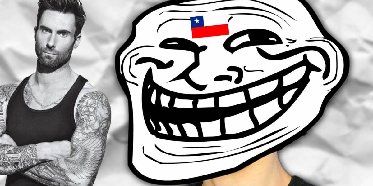 Chile trollea a Adam Levine en Instagram por lo que hizo en Viña