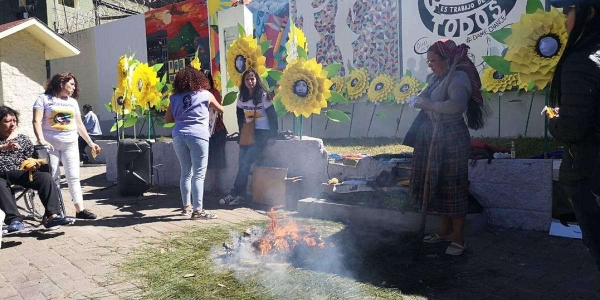 Recuerdan a víctimas del Hogar Virgen de la Asunción y demandan acciones para no repetir hechos