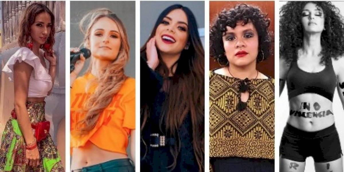 Los poderosos mensajes de las mujeres de la farándula guatemalteca en el #8M
