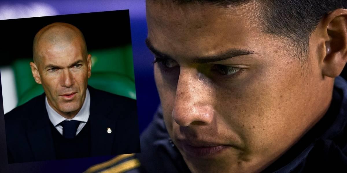 James es portador de una excelente noticia — Real Madrid