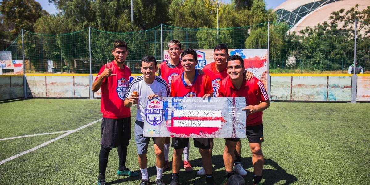 """""""Bajos de Mena"""" obtuvo la penúltima clasificación zonal de Neymar Jr's Five"""