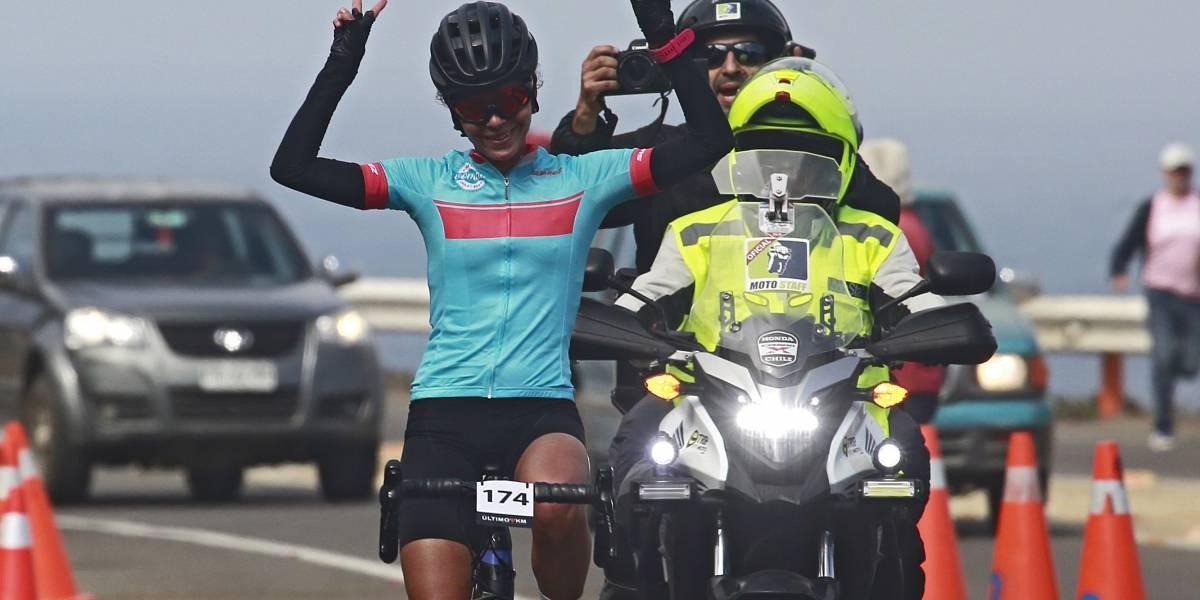 Más de 200 ciclistas se tomaron las rutas en Zapallar