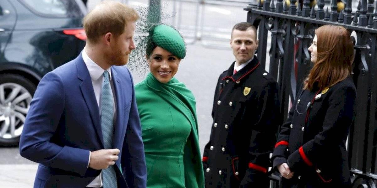 Harry y Meghan realizan su última labor real en Gran Bretaña