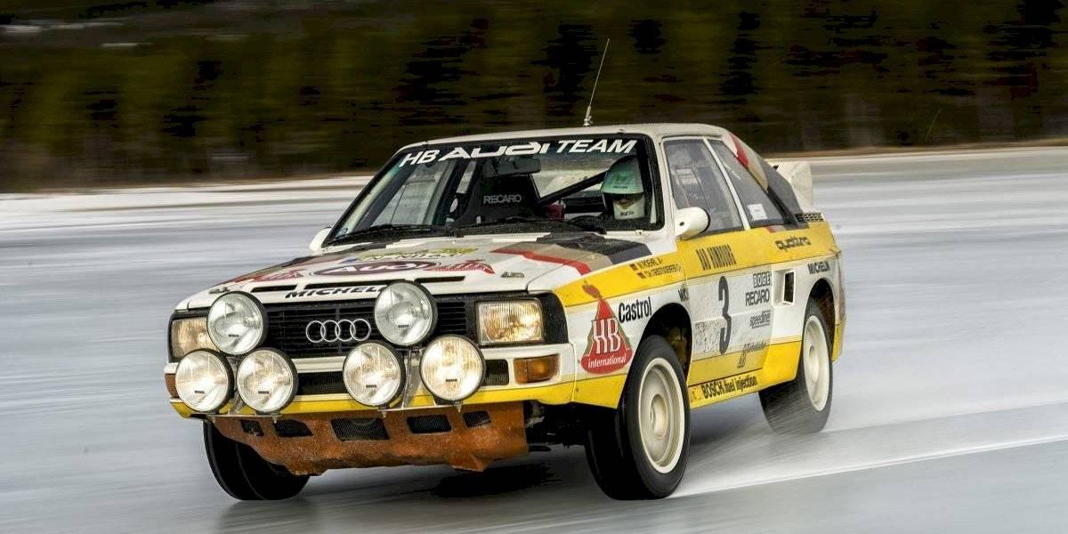 Audi celebra los 40 años de su mítica tracción quattro