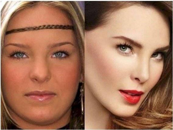 Belinda: antes y después