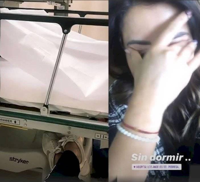 Esposa de un futbolista fue al hospital a ver a la pareja de Renato Ibarra: Lucely Chalá