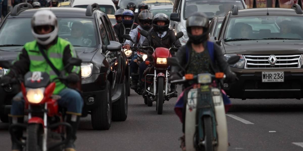 Pico y placa para carros y motos mantiene este fin de semana en Bogotá