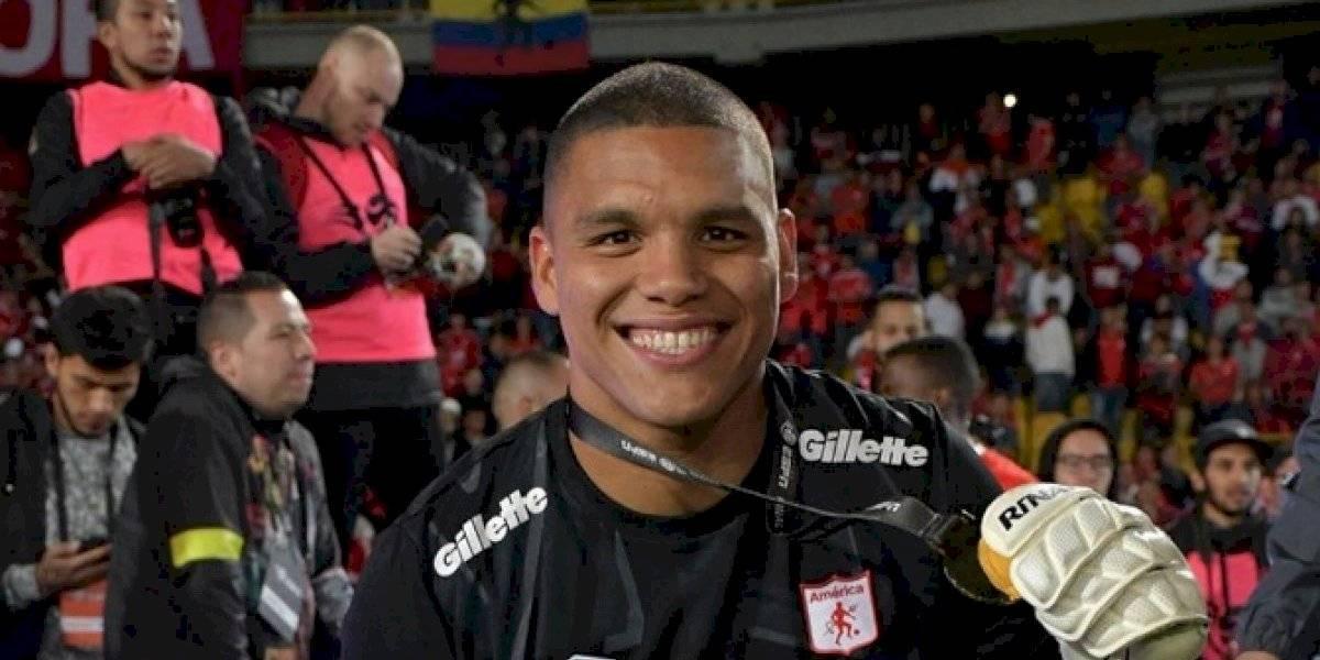 Arquero de América de Cali no pudo ingresar al país y se perderá el duelo ante la UC por la Copa Libertadores