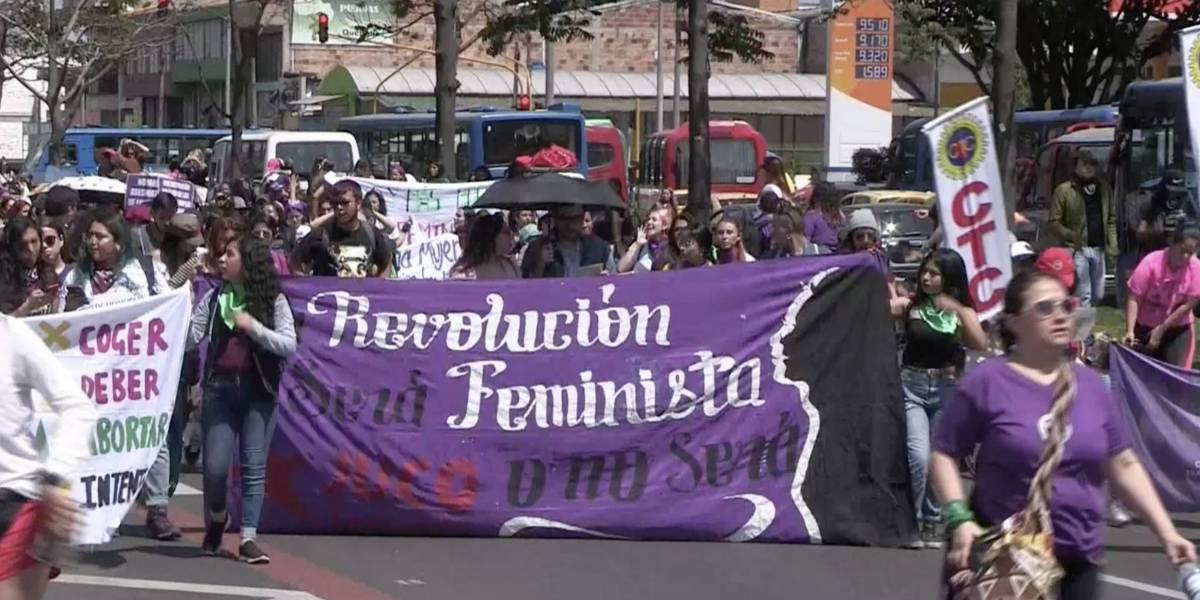 Las mujeres en Bogotá, víctimas de la inseguridad y los problemas de movilidad
