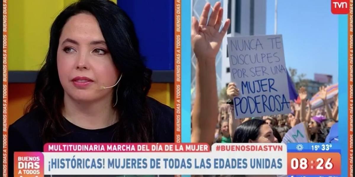 "Chiqui Aguayo y marcha 8M: ""Nos sentíamos invencibles ayer"""