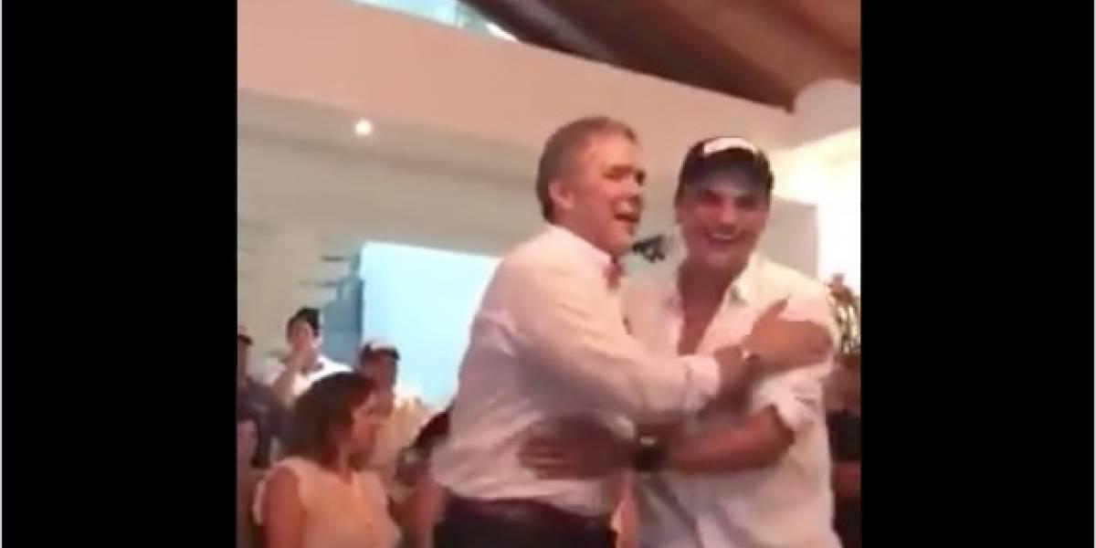 Hombre que sale en video con Duque y Silvestre no es el Ñeñe Hernández