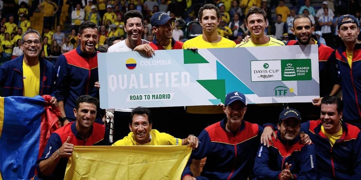 Posibles rivales de Colombia en las finales de Copa Davis