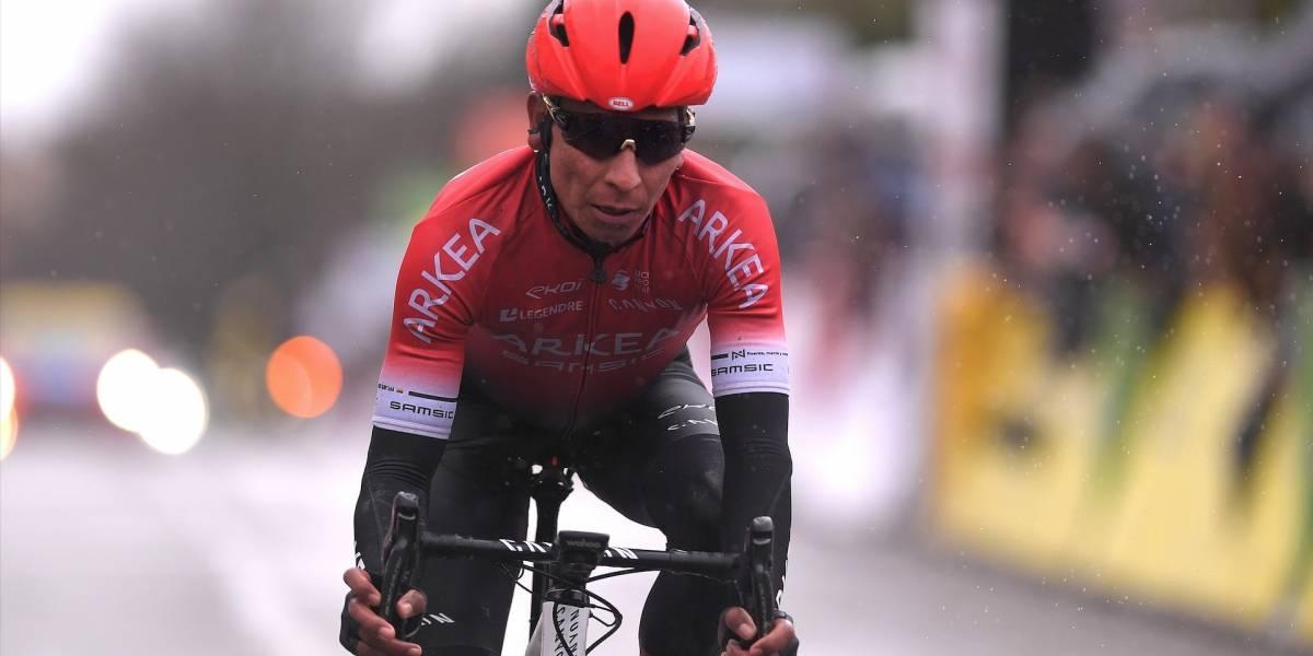 Nairo Quintana se quedó con la última etapa de la París-Niza