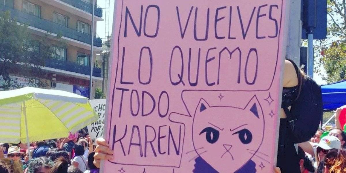 Hasta bordados: los carteles más creativos que dejó la marcha del 8M
