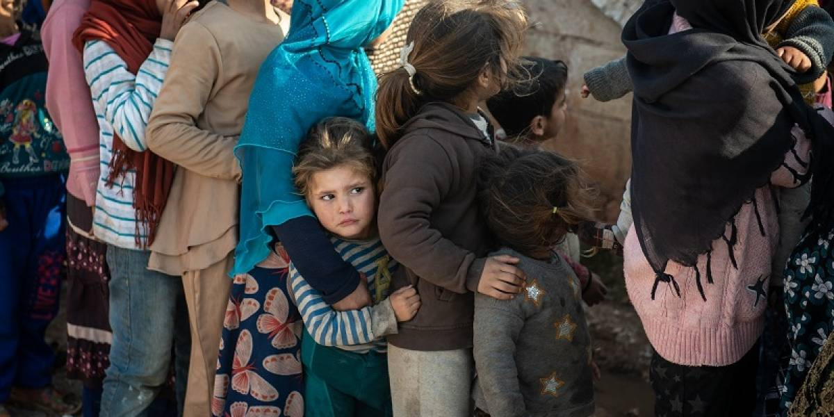 Crisis humanitaria a gran escala en Siria