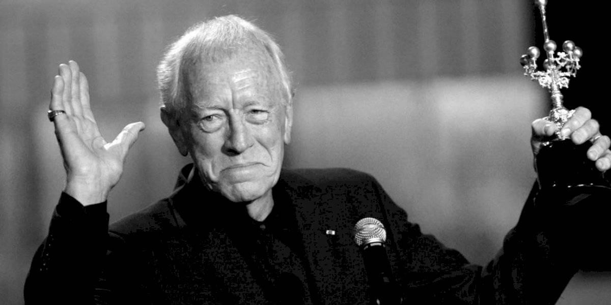 """Muere Max von Sydow, el protagonista de """"El exorcista"""""""